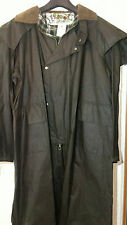 New vintage men's wax cotton 'Australian Stockman's' long coat