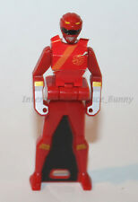 Bandai Power Rangers Sentai Gokaiger Wild Force Red Ranger Key Used