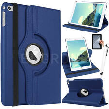New 360 Rotating Folio Leather Case Cover For Apple iPad / Samsung Galaxy Tablet