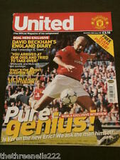 MANCHESTER UNITED - VERON - NOV 2001