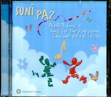 "SUNI PAZ "" ALERTA SINGS & SONGS FOR THE PLAYGROUND""CD SIGILLATO CANCIONES RECREO"