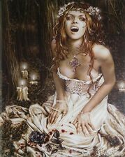 VICTORIA FRANCES PINUP POSTER (40x50cm) VAMPIRE NEW LICENSED ART