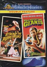 NEW DVD - ATTACK OF THE PUPPET PEOPLE  & VILLAGE OF THE GIANTS Ron Howard NEW!