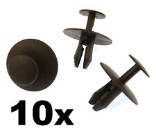 X 10 Peugeot Plastique Colliers Rivet- Clips Garniture Attaches pour