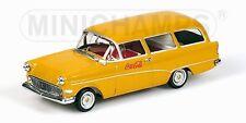 Opel Rekord P1 Caravan 1958 Coca Cola 1:43 Model MINICHAMPS