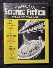 1969 FAMOUS SCIENCE FICTION Digest Magazine v.1 #9  VG+ Frank R Paul Cover