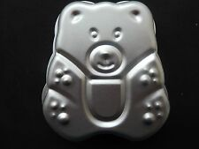 Aluminium Bear Shaped Baking Tin Cake Pan Chocolate Birthday Mould
