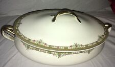 Covered Vegetable Bowl Johnson Brothers China Pareek Riviera Crazing 1931