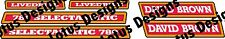 David brown 780 SELECTAMATIC Livedrive tracteur stickers/decals