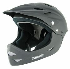 NEW STEALTH FULL FACE CYCLE HELMET - DOWNHILL DIRT JUMP MTB DH PARK BMX MOUNTAIN