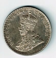 INDIA BRITISH 1911 (B) ONE RUPEE KING GEORGE V .917 SILVER COIN BOMBAY MINT