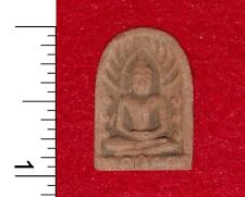 Thai Buddha Amulet (clay) from a Buddhist Temple in Bangkok                50509