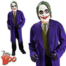 The Joker Age 8 9 10 Boys Fancy Dress Batman Dark Knight Child Halloween Costume