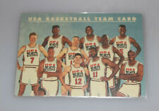 1992 SkyBox USA Plastic Team Card