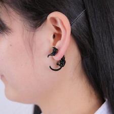 One Pc Punk Gothic Women Leopard Animal Kitten Earring Ear Stud Jewellery