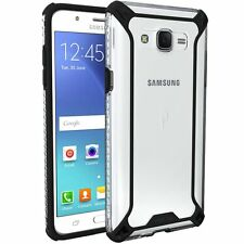POETIC Affinity  Soft Shock proof TPU Case for Samsung Galaxy J7 Black/Clear