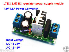 LM7812 L7812 AC/DC to 12V 1.5A Regulator Rectifier Converter Power Supply Module