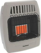 NEW KOZY WORLD KWP210 6K INFRARED LP GAS HEATER 250 SQ FT WALL MOUNT 0707588