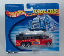 VHTF Hot Wheels Haulers Dragster Speed Way Transport GMC School Bus Scale Model