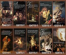 "Inspirational Christian Church Banners 30"" x 62"" - Rembrandt (PICK-ANY-TWO)"