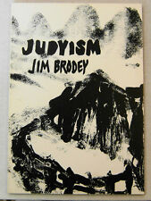 JIM BRODEY Poetry Book JUDYISM  1980 United Artists 1st Edition