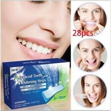 28 PRO White Effects Dental Whitestrips Teeth Whitening Strips Stripes# QJ