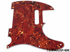 *NEW Brown Tortoise Telecaster PICKGUARD for Fender USA Standard Tele 3Ply 8Hole