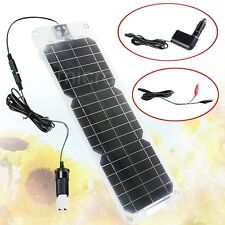 New Semi-flexible 18V 10W Monocrystalline Silicon Solar Panel Battery Charger