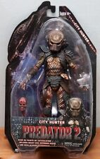 """City Hunter Predator Series 7  Scale Action Figure 7"""" New In Package"""
