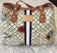 LAMB Marigold Williamsfield Tote GUC Preloved Gwen Stefani Floral Rocker L.A.M.B