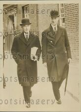 1939 British Cabinet Members Lord Chatfield & Lord Stanhope Press Photo