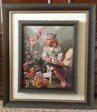 Bob Byerley NAMING OF THE FLOWERS Canvas Impression Signed #44/395 With COA