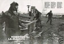Coupure de Presse Clipping 1990 (6 pages) Tchernobyl la Maudite