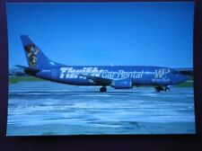 POSTCARD BOEING 737-3LP AEROPLANE OF WESTERN PACIFIC LIMITED EDITION