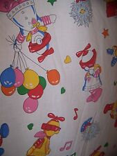 Robotman And Friends Bed Sheet TWIN FLAT Vintage 80s DIC Animation Kenner