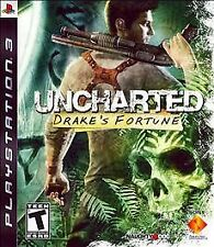 Uncharted: Drake's Fortune (Sony PlayStation 3, 2007)