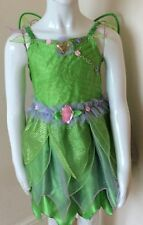 DISNEY TINKERBELL  COSTUME Tinker Bell Outfit and Headband deluxe age 5/6 years