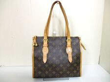 Authentic LOUIS VUITTON Monogram Popincourt Haut M40007 Shoulder Bag FL0095