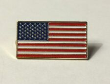 "NEW American Flag Enamel 1"" Lapel Pin United States USA VOTE America"