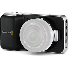 Blackmagic Design Pocket Cinema Camera with Micro Four Thirds Lens