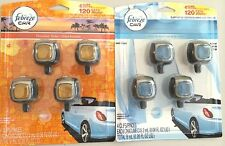 8 Febreze Car Vent Clips(Air Freshener,Eliminates Ordors) use for up to 240 Days
