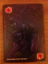 Marvel Overpower Monumental Fighting Level 6 Black Panther X2 Power Card Mint