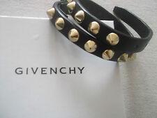 Givenchy leather studded bracelet