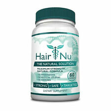 HairNu - Natural Hair Loss Treatment - Fast Hair Growth  (1 Bottle)
