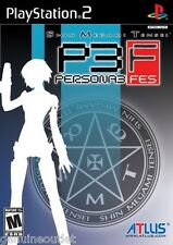 Shin Megami Tensei Persona 3 FES for PlayStation 2 Brand New Factory Sealed