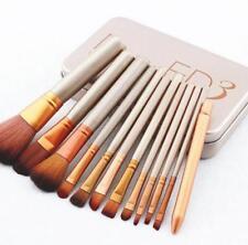 12 Pcs Nake3 Makeup Brush Set Cosmetic Brushes Eyeshadow Consealer Lip