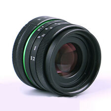 APS-C 50mm f/1.8 C mount MC CCTV Lens for mirrorless camera NEX OM-D GH4 FX P/Q
