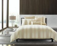 New Hotel Collection Regal Striped Full/Queen Duvet Cover