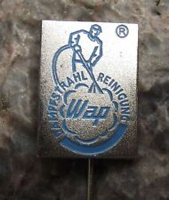 WAP Dampstrahl Reinigung Pressure Washers Company Germany Firm Pin Badge