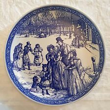 MINT Vintage RARE SPODE Blue Room Victorian Christmas Made in England
